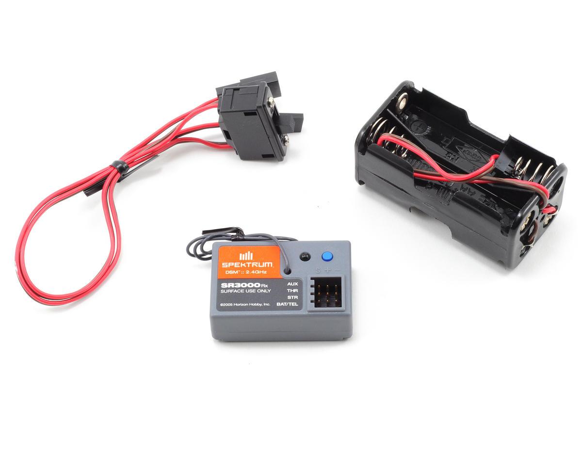 Spektrum Rc Dx20 Dsm 2 Channel Radio W Sr3000 Receiver No Servos Surface Wiring Spm20210 Cars Trucks Amain Hobbies