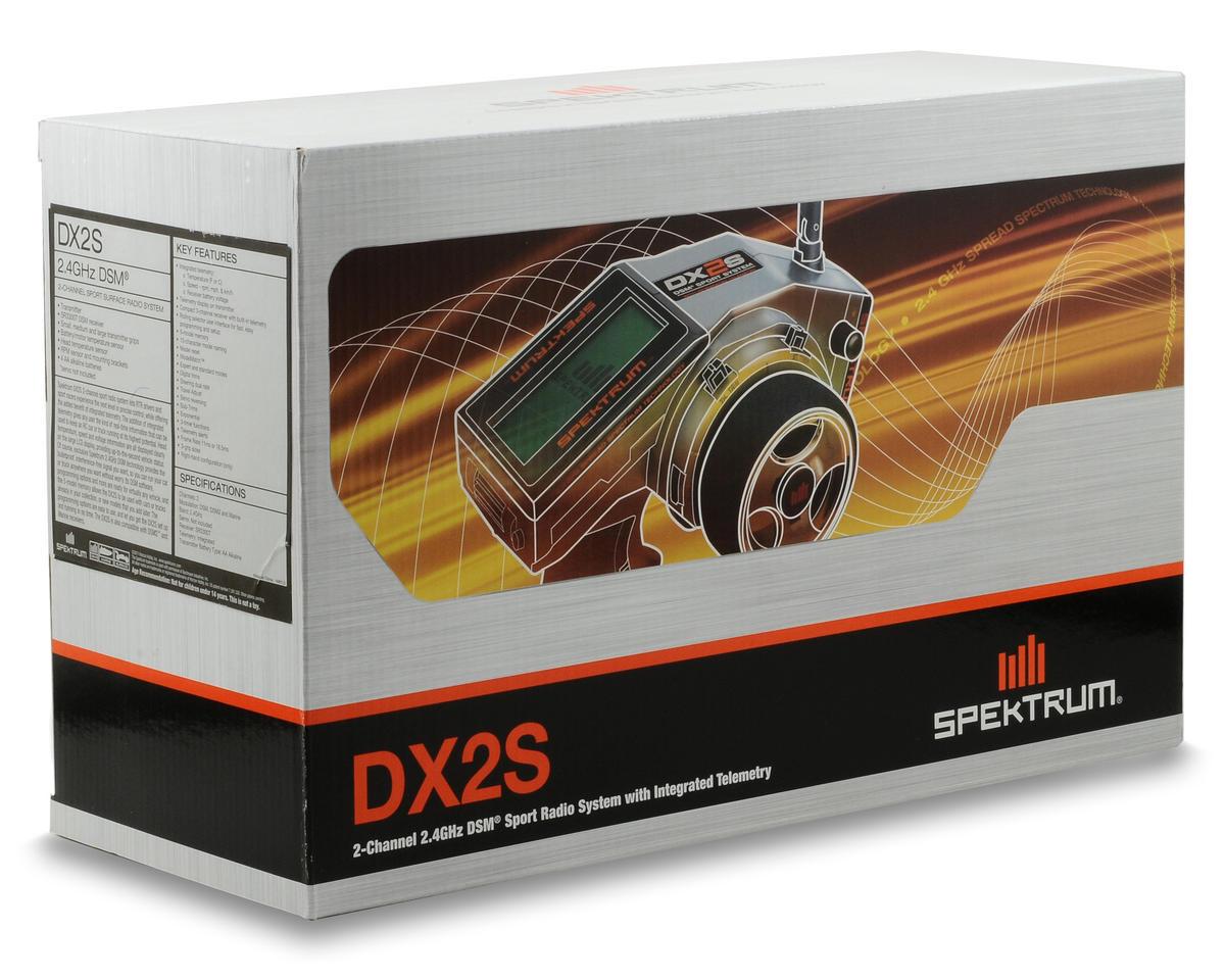 Spektrum RC DX2S DSM 2CH Surface Radio w/Telemetry