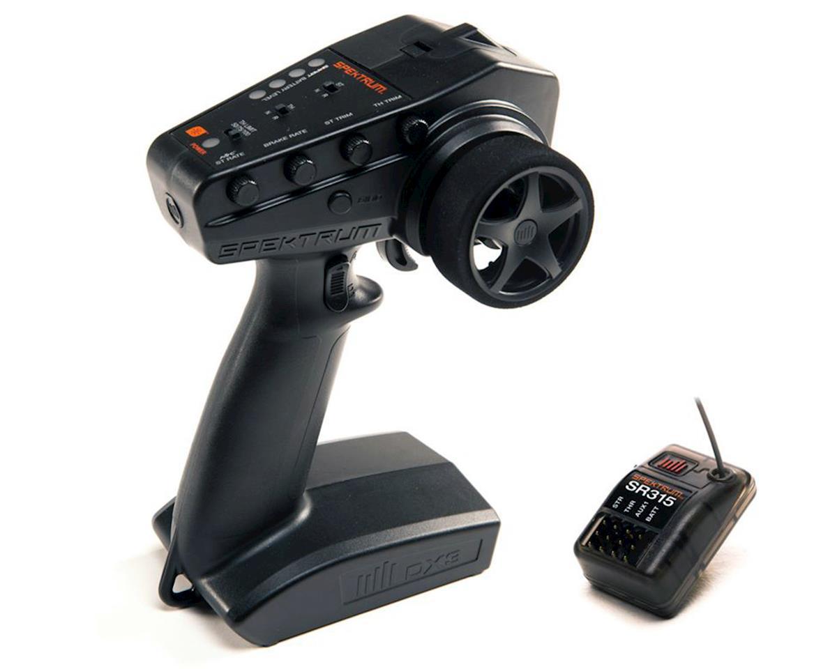 Spektrum RC DX3 Smart 3-Channel DSMR Transmitter with SR315 Receiver SPM2340