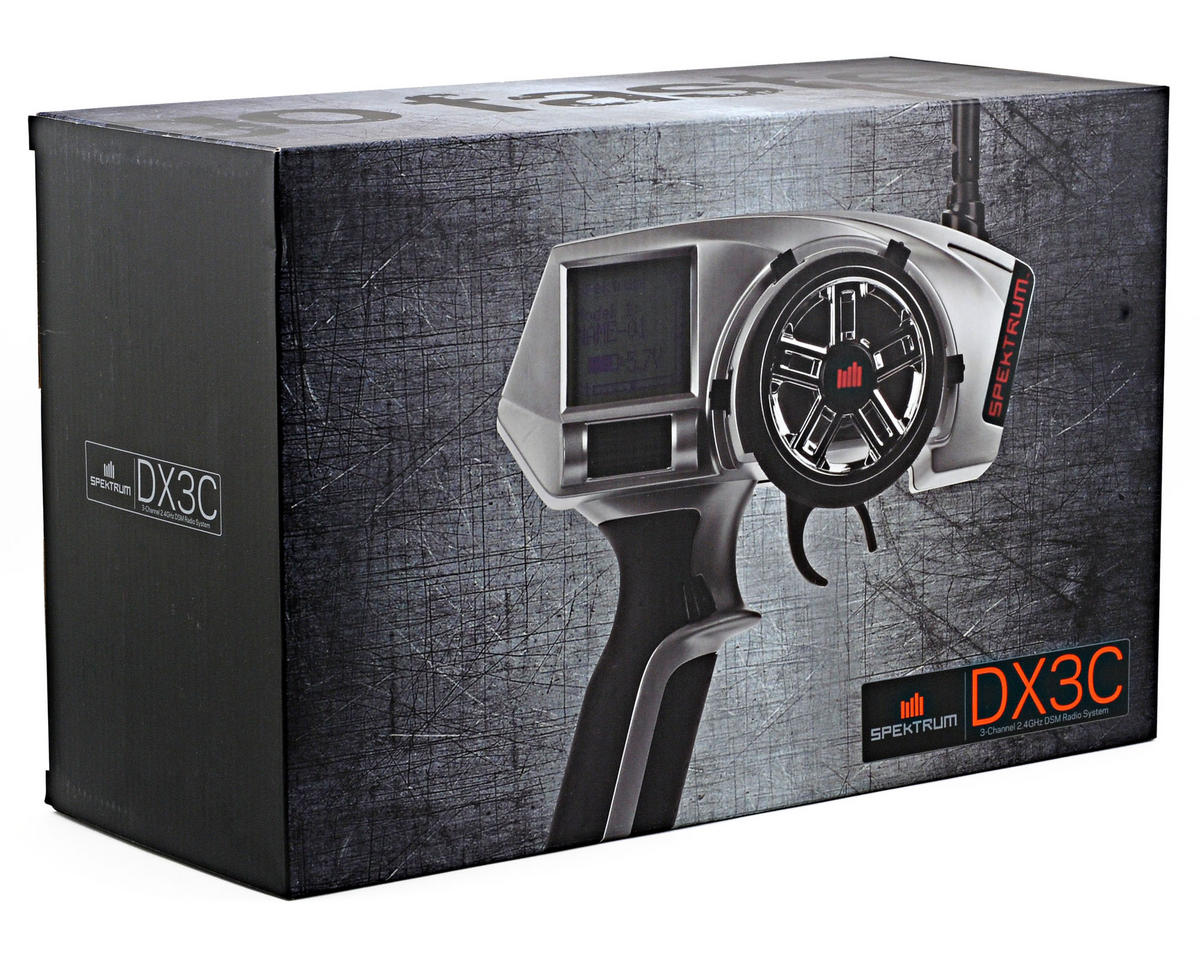 Spektrum RC DX3C DSM 3-Channel Surface Radio