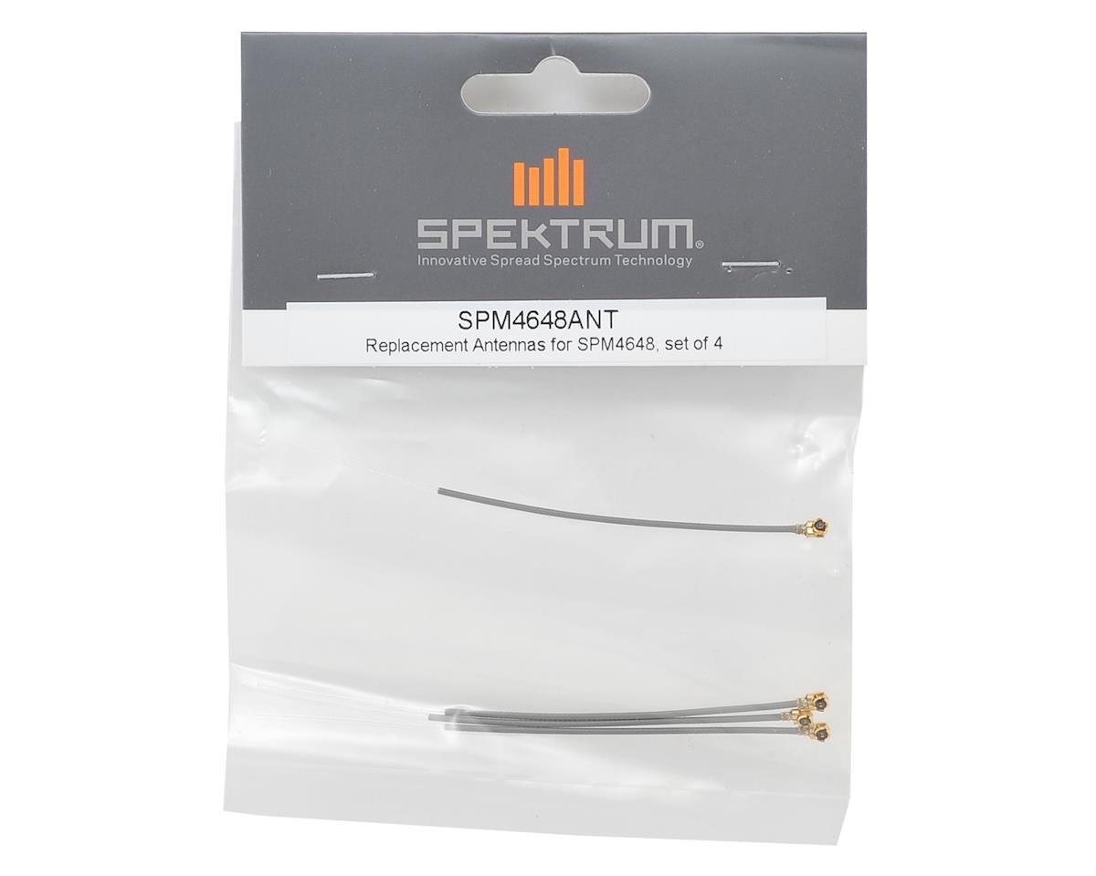 SPM4648 / SPM4649T Replacement Receiver Antenna (4) by Spektrum RC