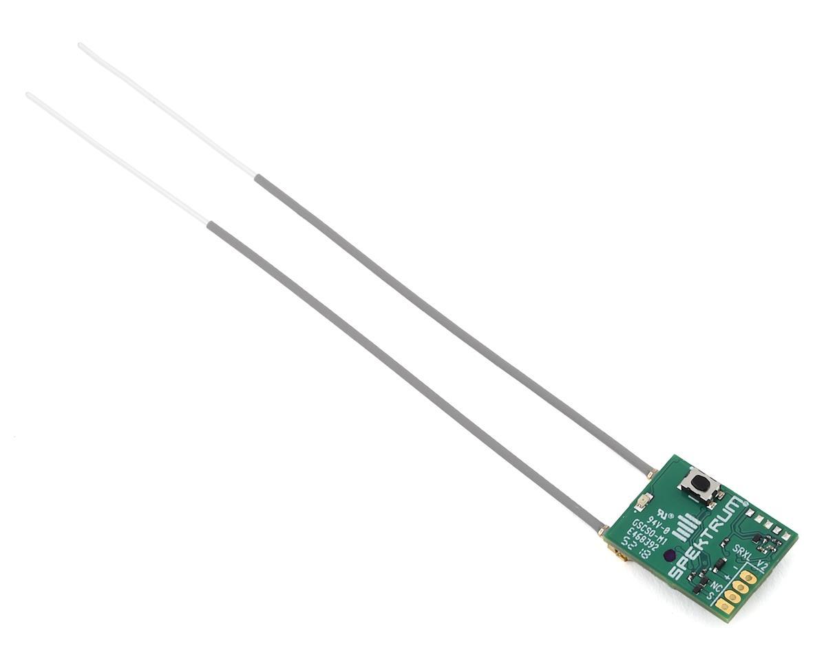Spektrum RC DSMX Quad Racing Serial Receiver w/Telemetry