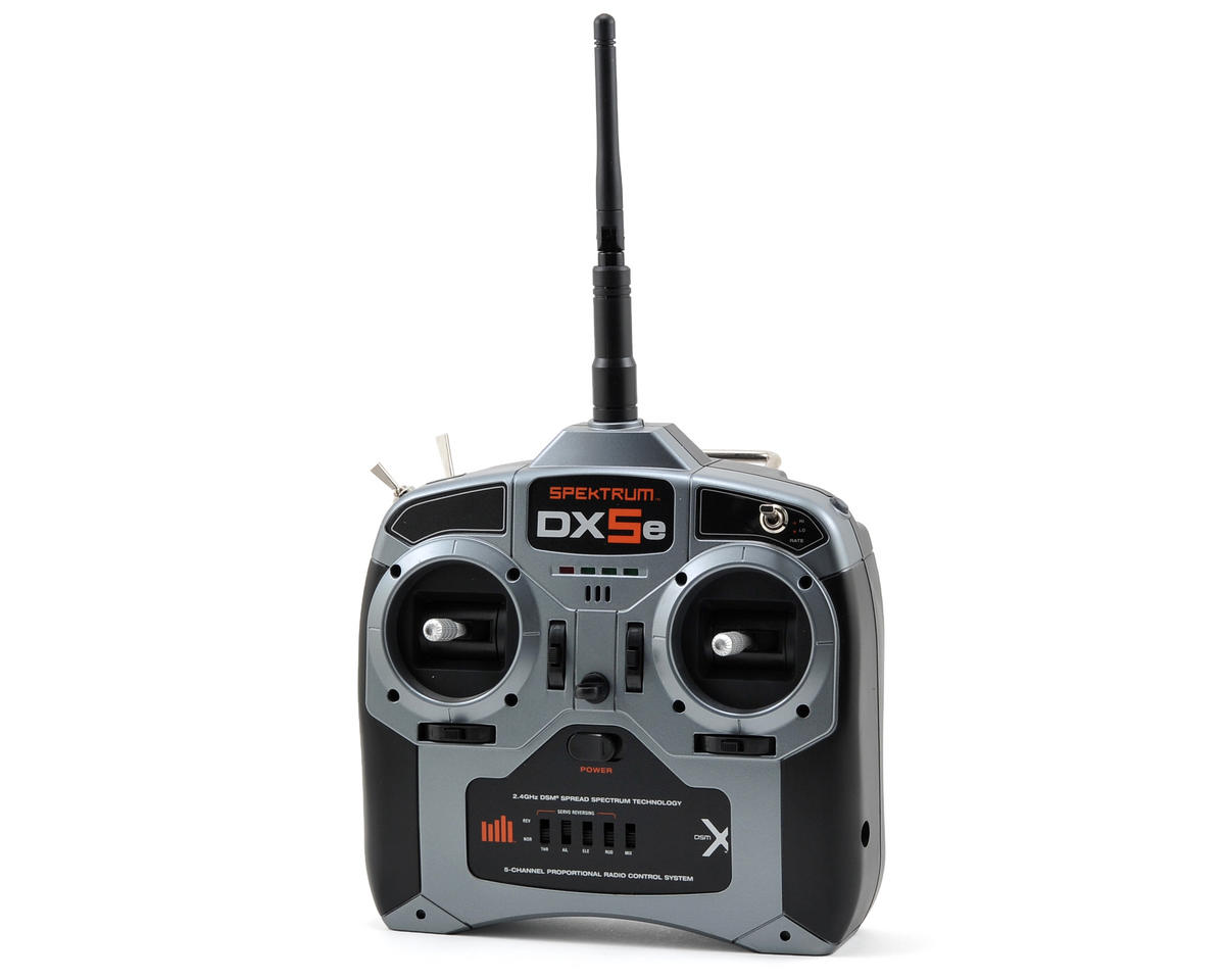 Spektrum RC DX5e 5 Channel Full Range DSMX Radio System w/AR600 Receiver (No Servos)