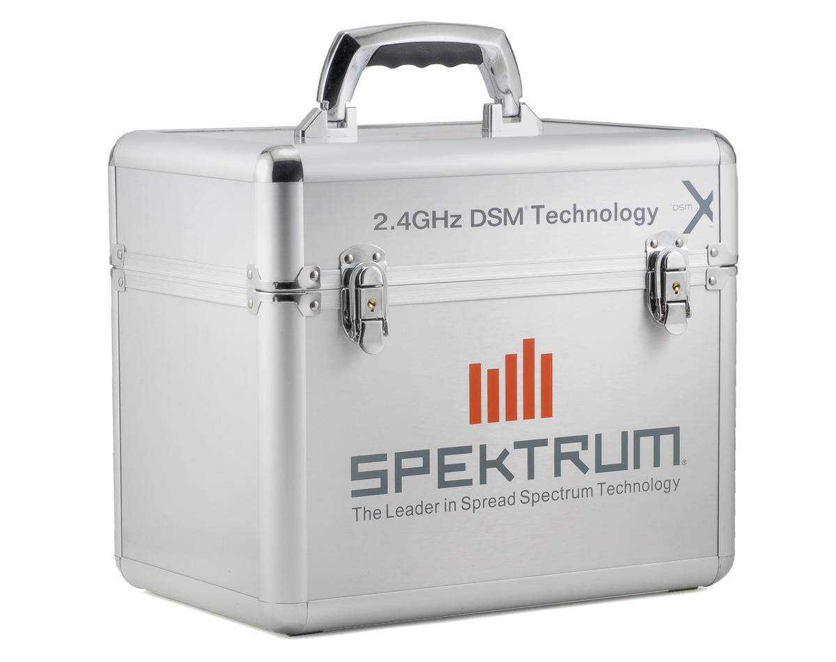 Spektrum Rc Single Stand Up Transmitter Case Spm6708