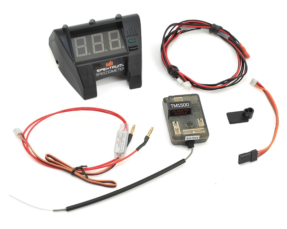 Spektrum RC DX2E Active Speedometer Bundle