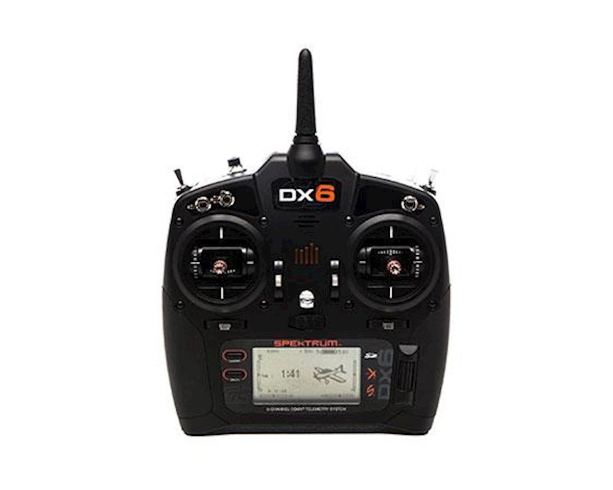 Spektrum RC DX6 G3 2.4GHz DSMX 6-Channel Radio System (Mode 2)