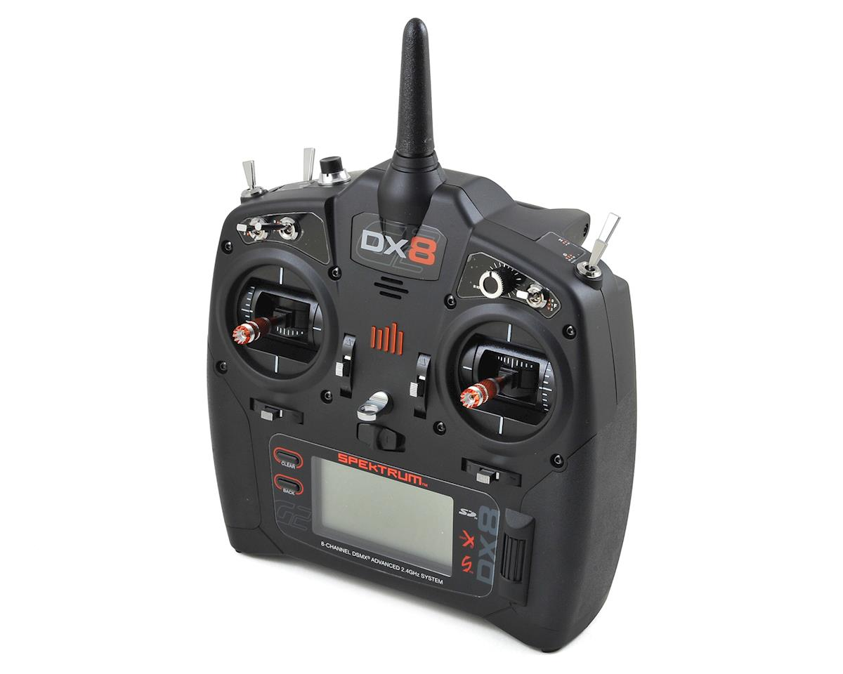 DX8 Gen 2 2.4GHz DSMX 8 Channel Radio System (No Servos) by Spektrum RC