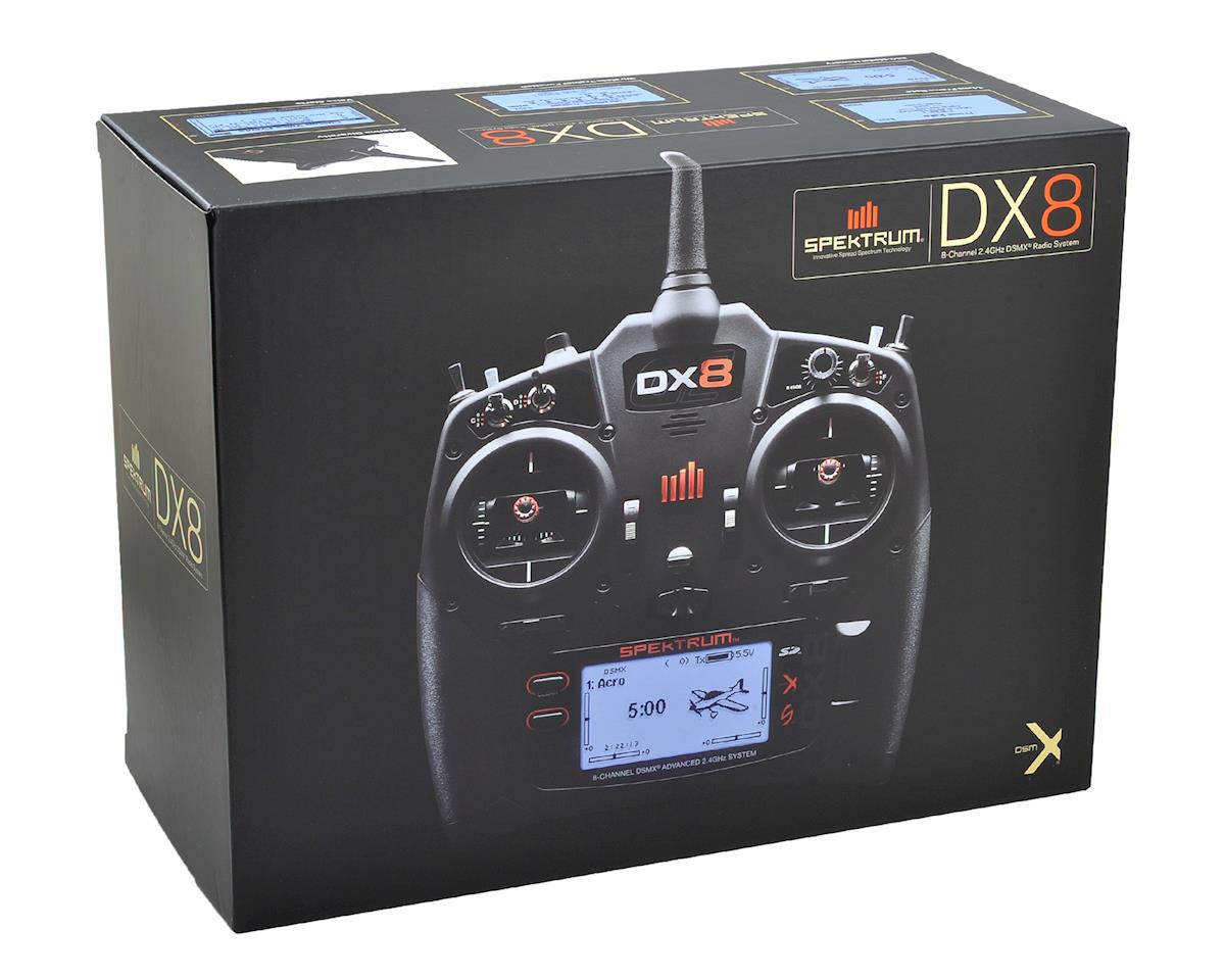 Spektrum RC DX8 G2 2.4GHz DSMX 8 Channel Radio System (No Servos)