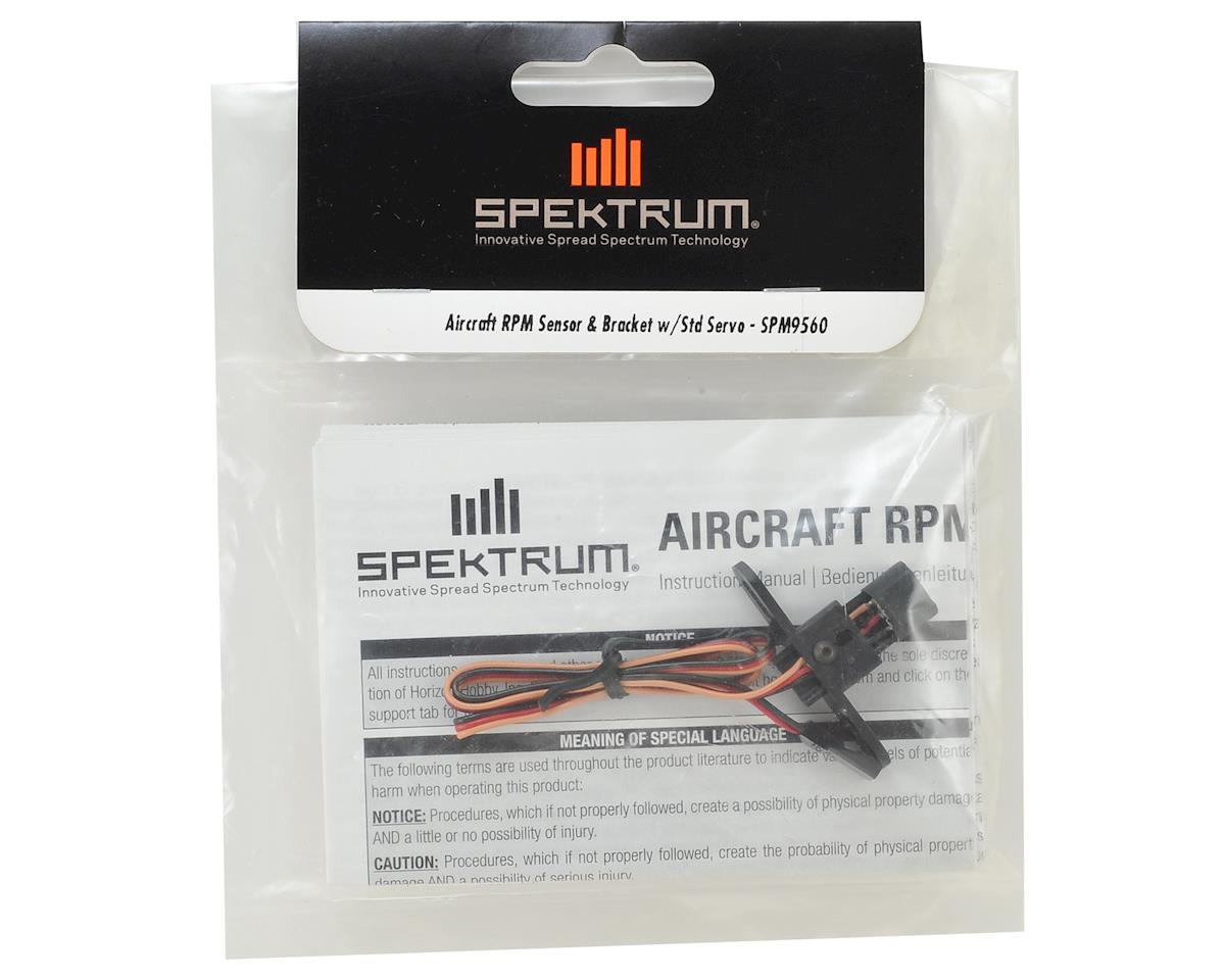 Aircraft RPM Sensor & Bracket w/Std Servo Connector by Spektrum RC
