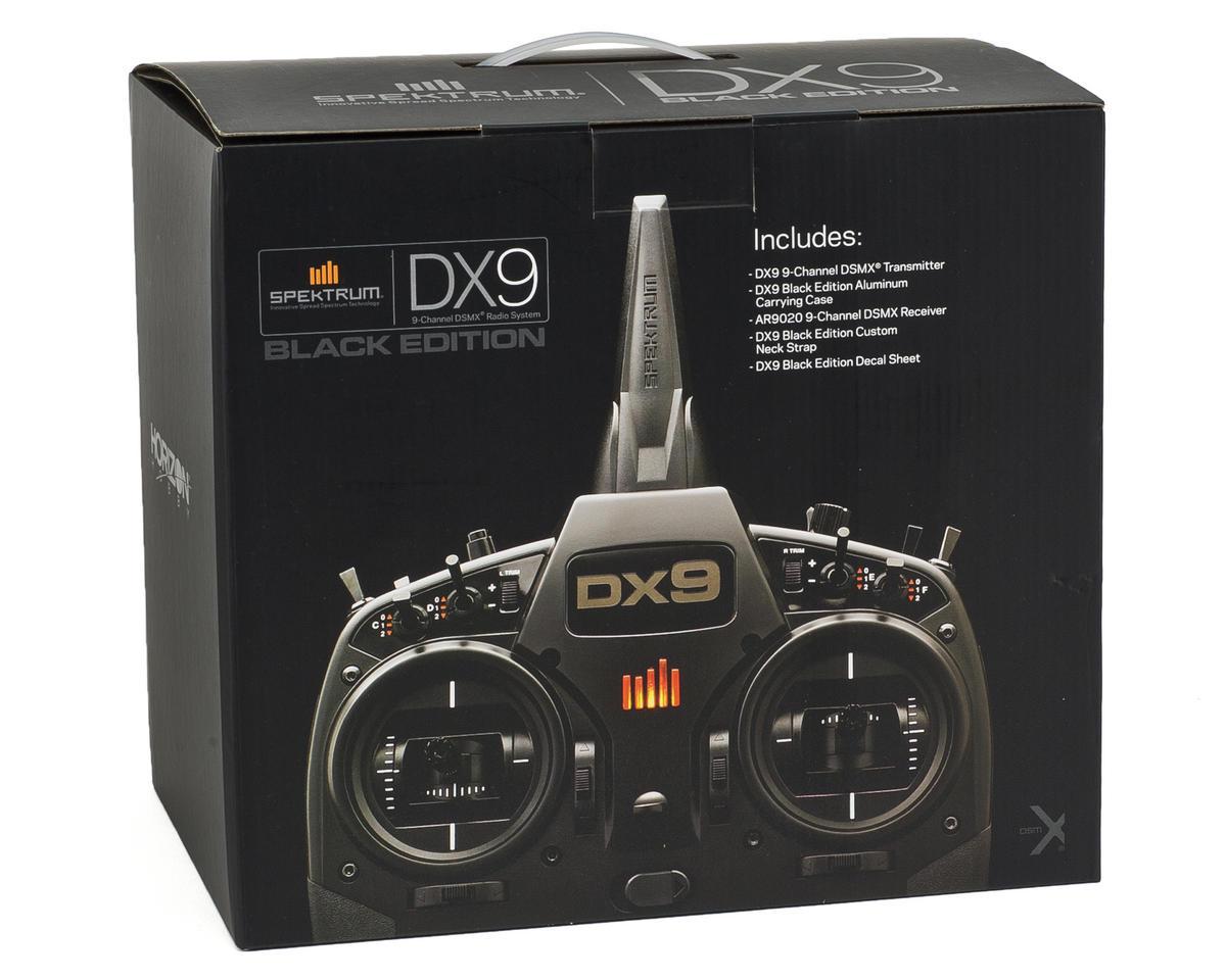 Spektrum RC DX9 Black Edition 9-Channel DSMX Radio System