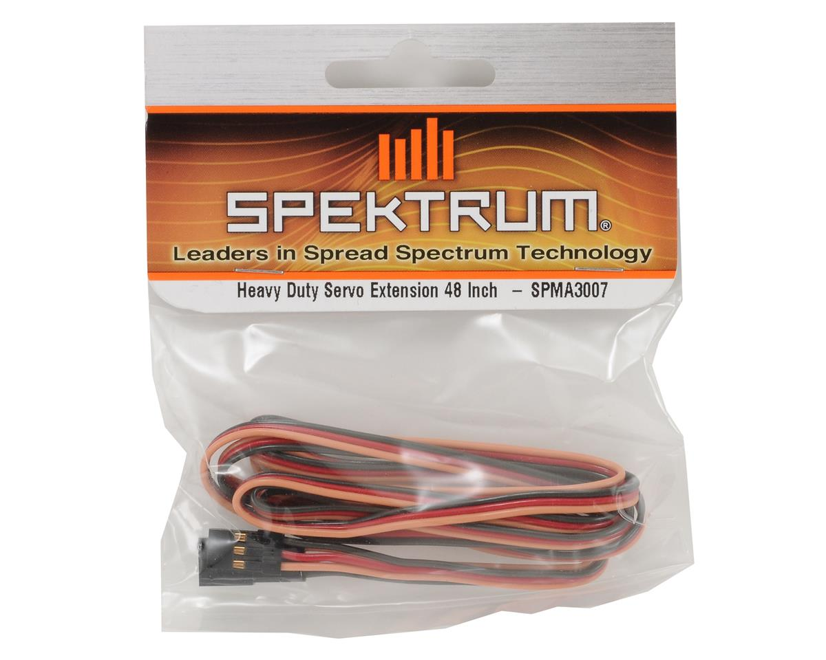 "Spektrum RC 48"" Heavy Duty Servo Extension"