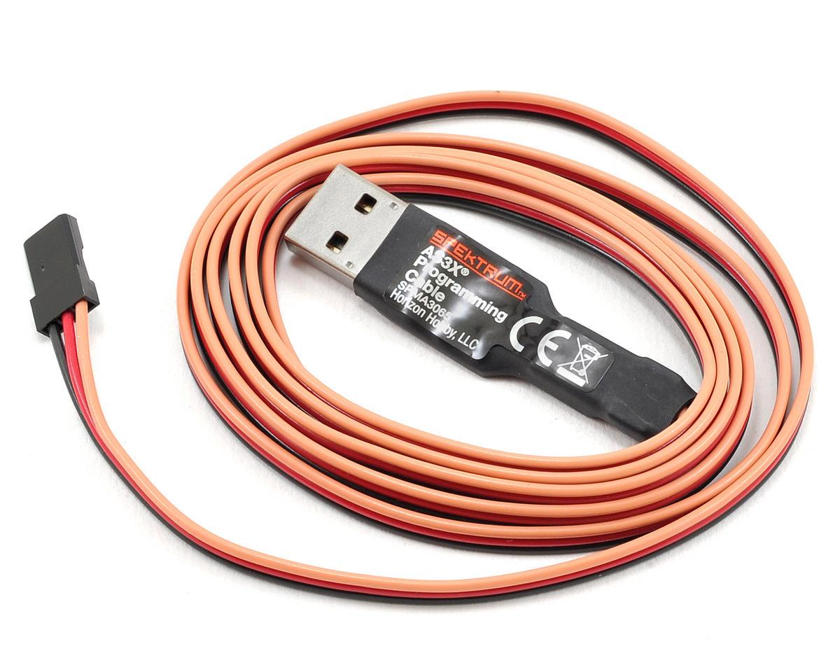 Spektrum RC AS3X Programming Cable w/USB Interface