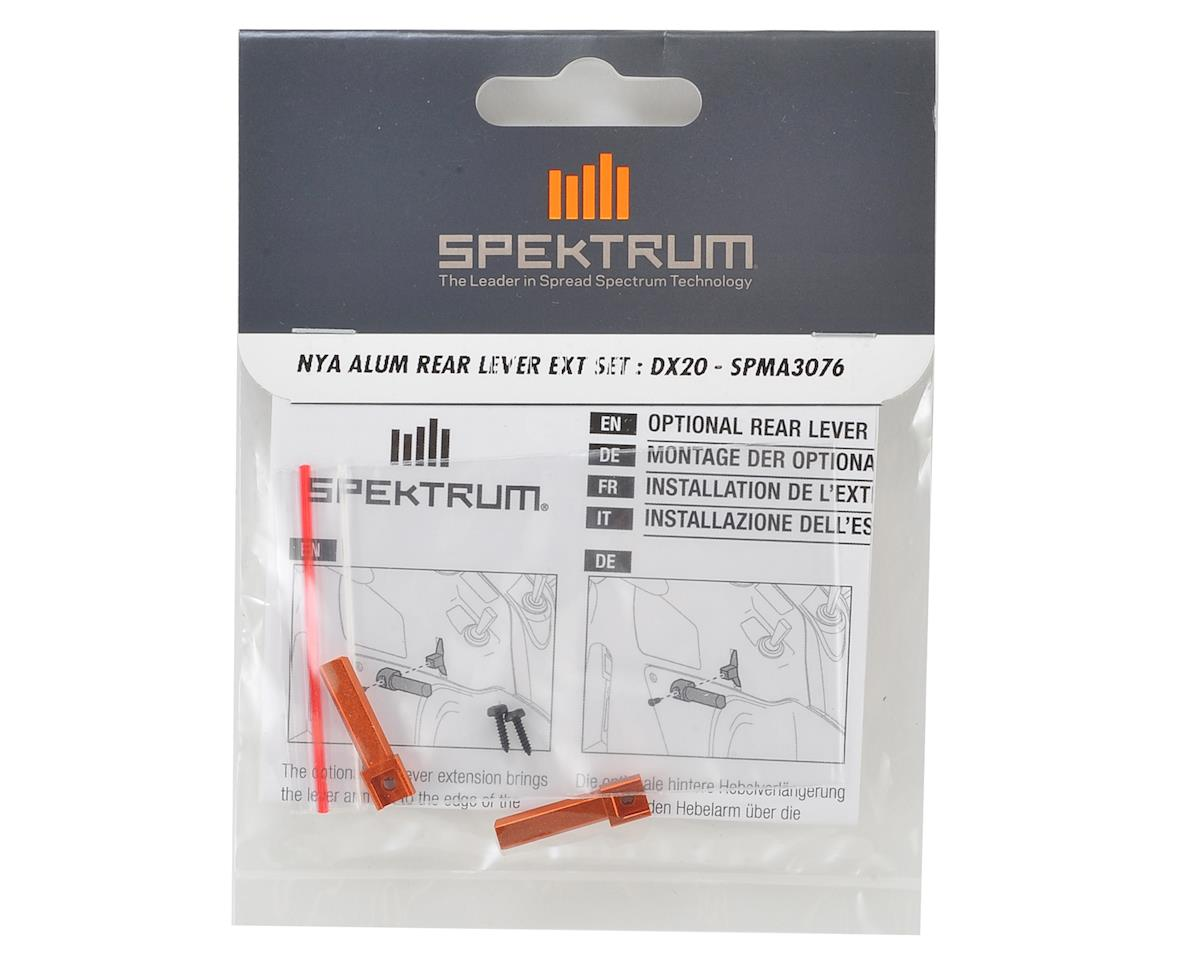 Spektrum RC Aluminum DX20 Rear Lever Extension Set