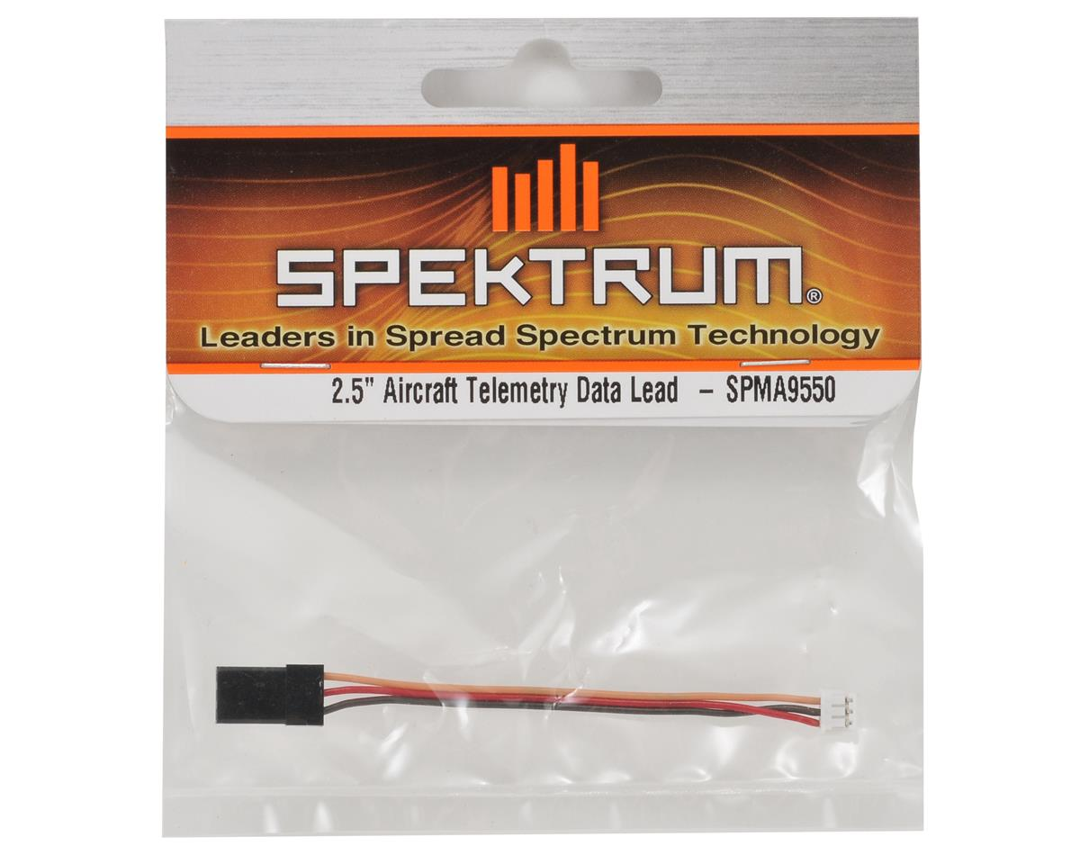 "2.5"" Aircraft Telemetry Data Lead by Spektrum RC"
