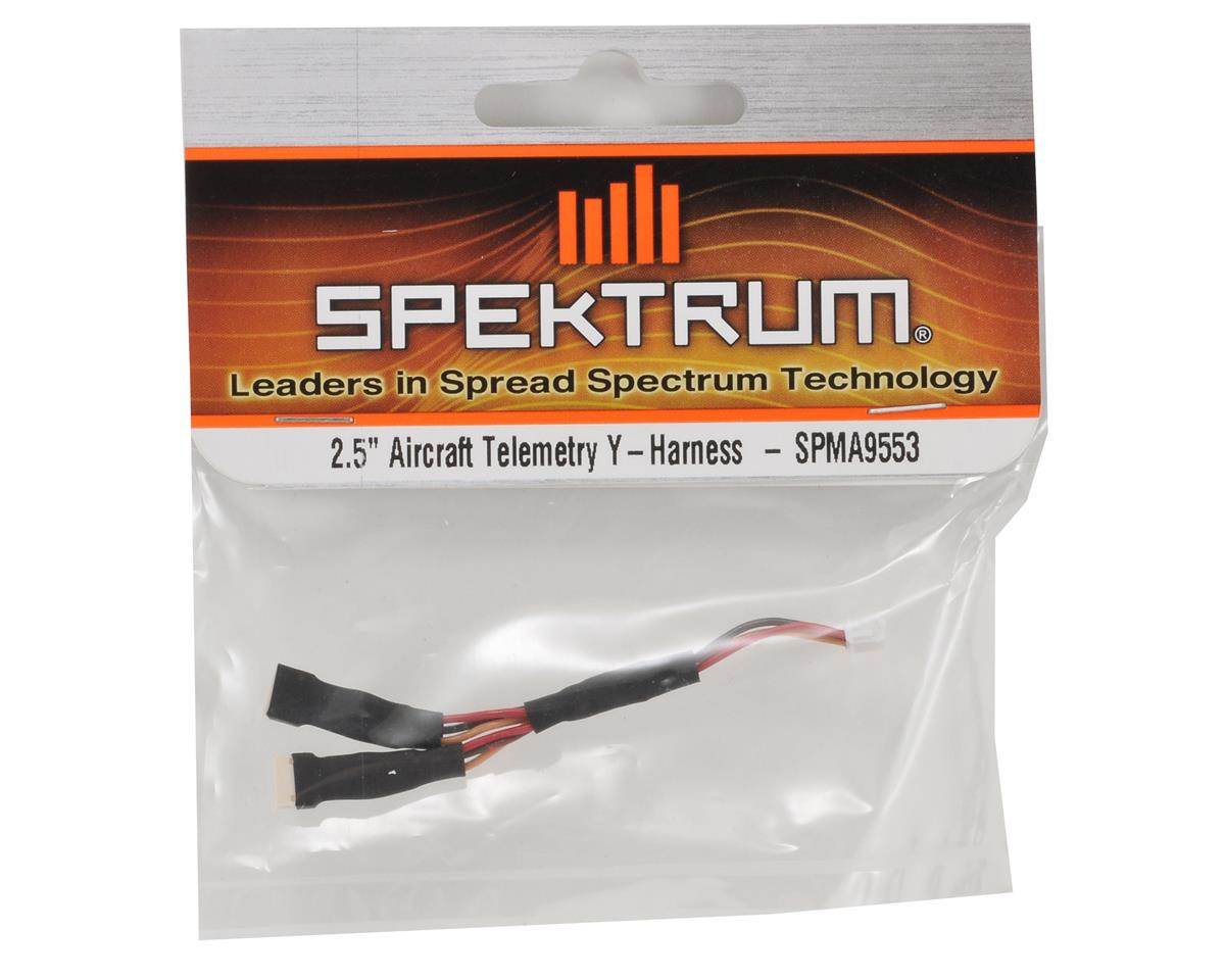 "Spektrum RC 2.5"" Aircraft Telemetry Y-Harness"