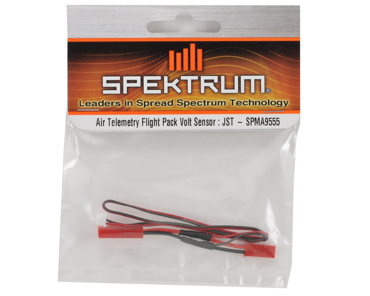 Spektrum RC Air Telemetry Flight Pack Voltage Sensor w/JST Connector