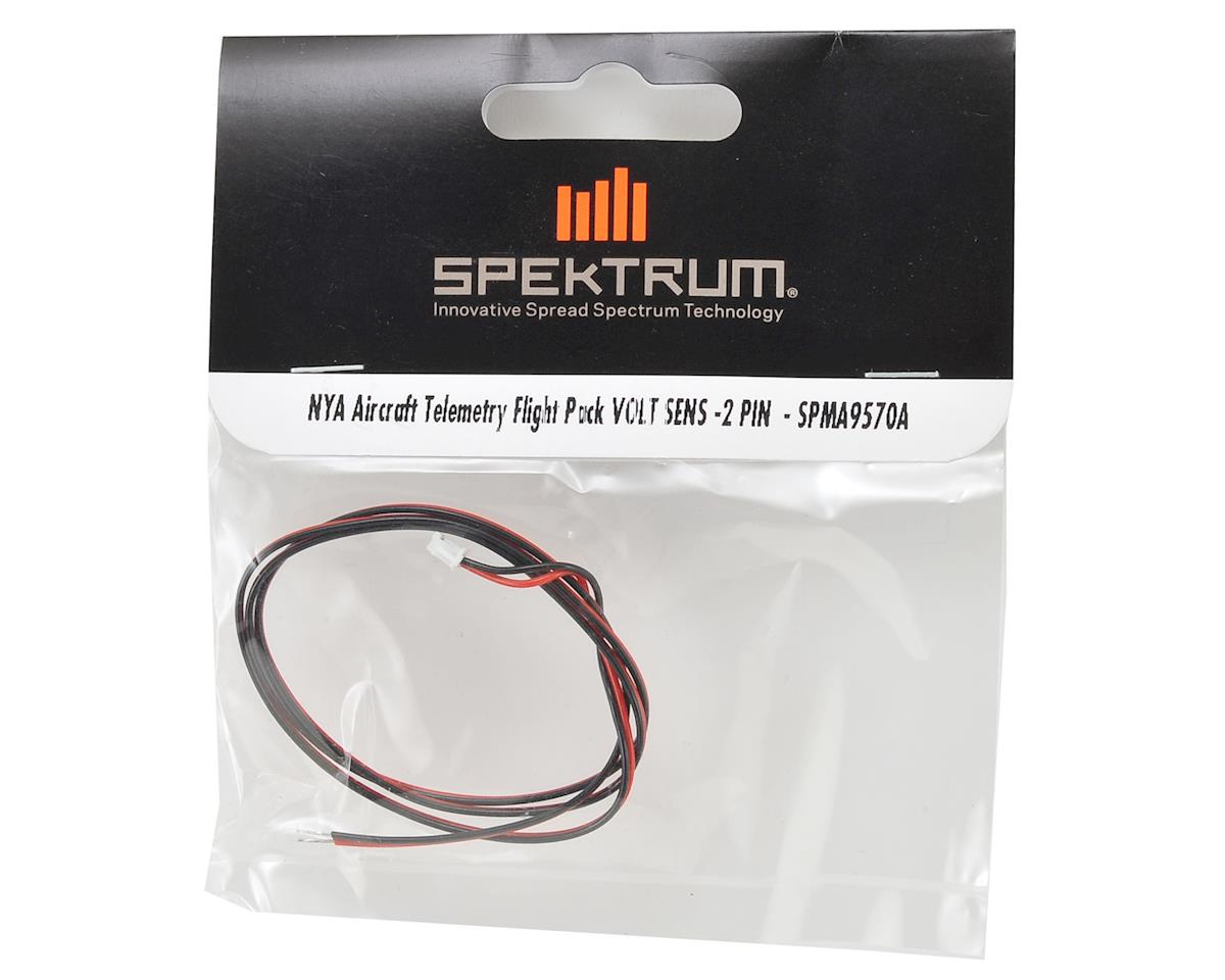 Spektrum RC Aircraft Telemetry Flight Pack Voltage Sensor (2 Pin)