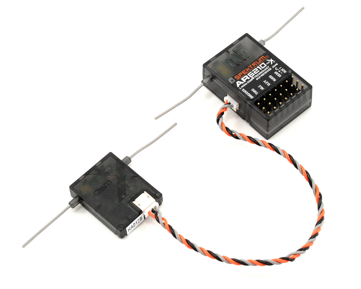 Spektrum RC AR6210 6-Channel DSMX Receiver