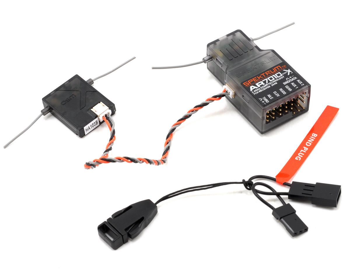 Spektrum RC AR7010 7-Channel DSMX Receiver