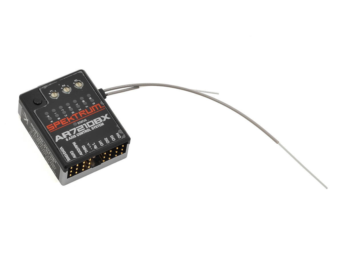 Spektrum RC SPMAR7210BX 7CH DSMX Flybarless Control System