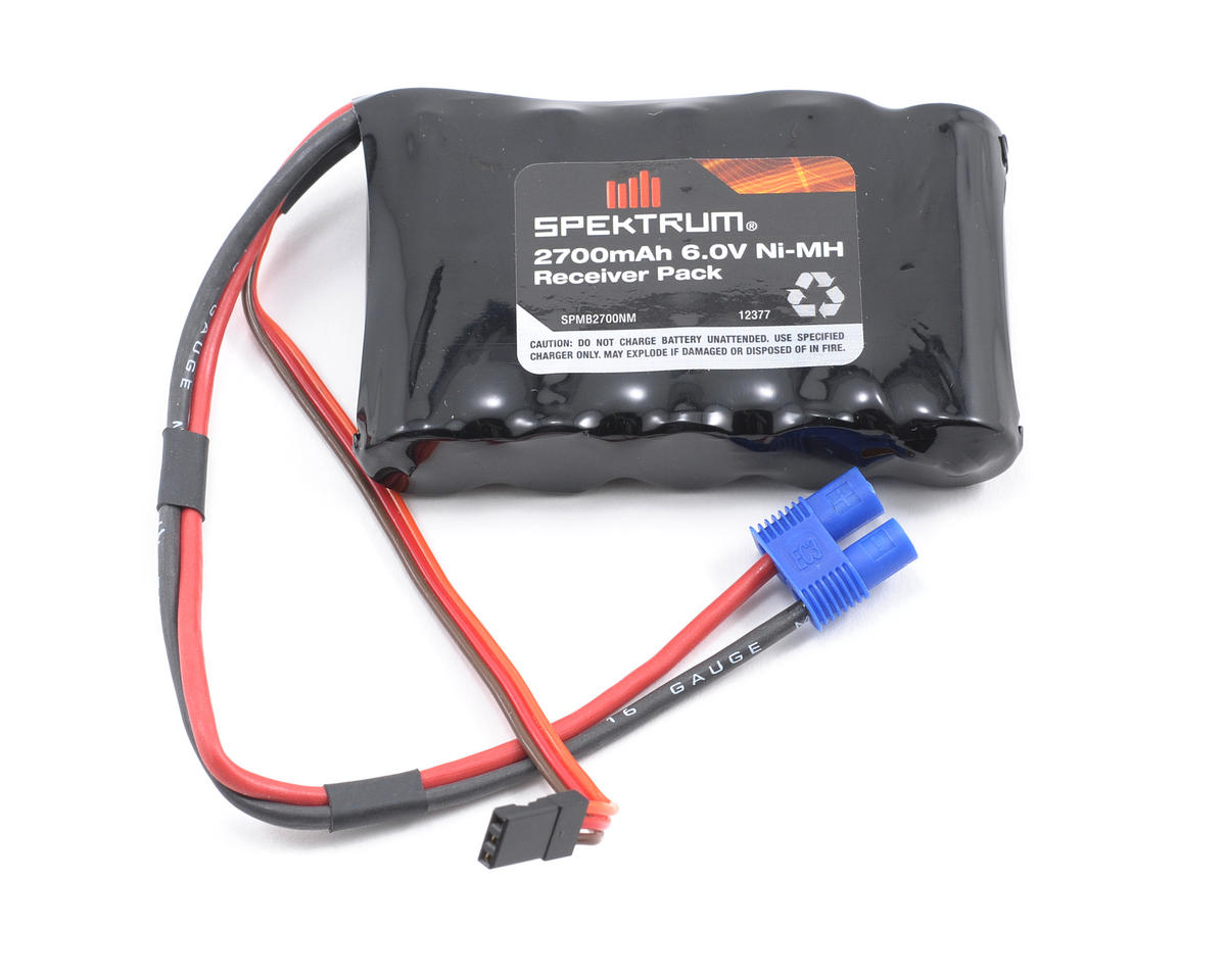 5-Cell NiMH Receiver Battery Pack (6V/2700mAh) by Spektrum RC