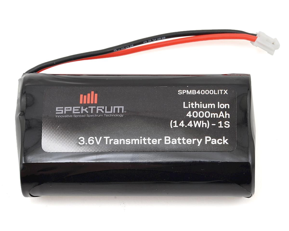 DX6R Li-Ion Transmitter Battery (3.6V/4000mAh) by Spektrum RC