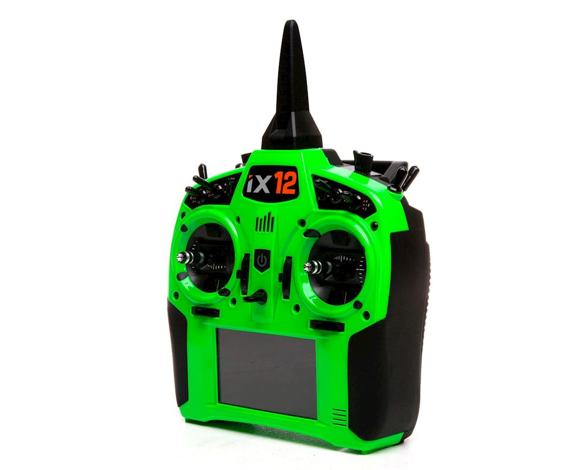 Spektrum RC iX12 2.4GHz DSMX 12-Channel Radio System (Transmitter Only) (Green)