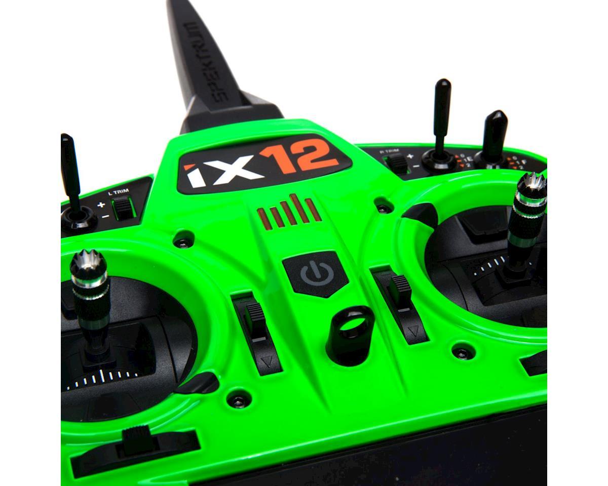 Spektrum RC iX12 2.4GHz DSMX 12-Channel Radio System (Transmitter Only) (Green)