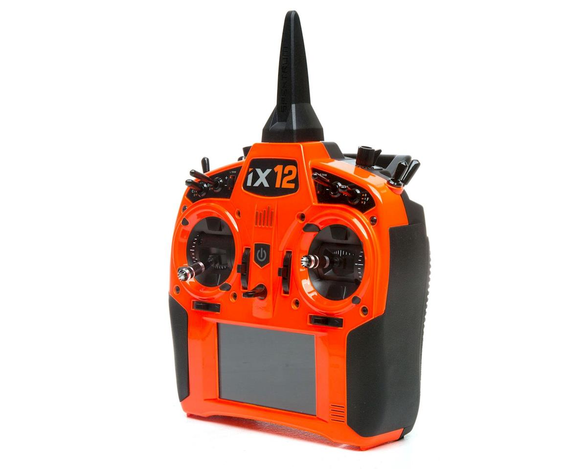 Spektrum RC iX12 2.4GHz DSMX 12-Channel Radio System (Transmitter Only) (Orange)