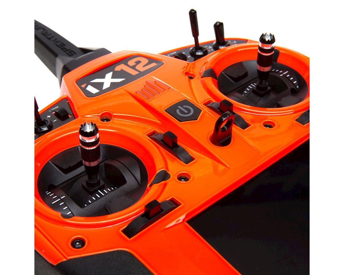 Spektrum RC iX12 2.4GHz DSMX 12-Channel Radio System (Transmitter Only) (Orange)
