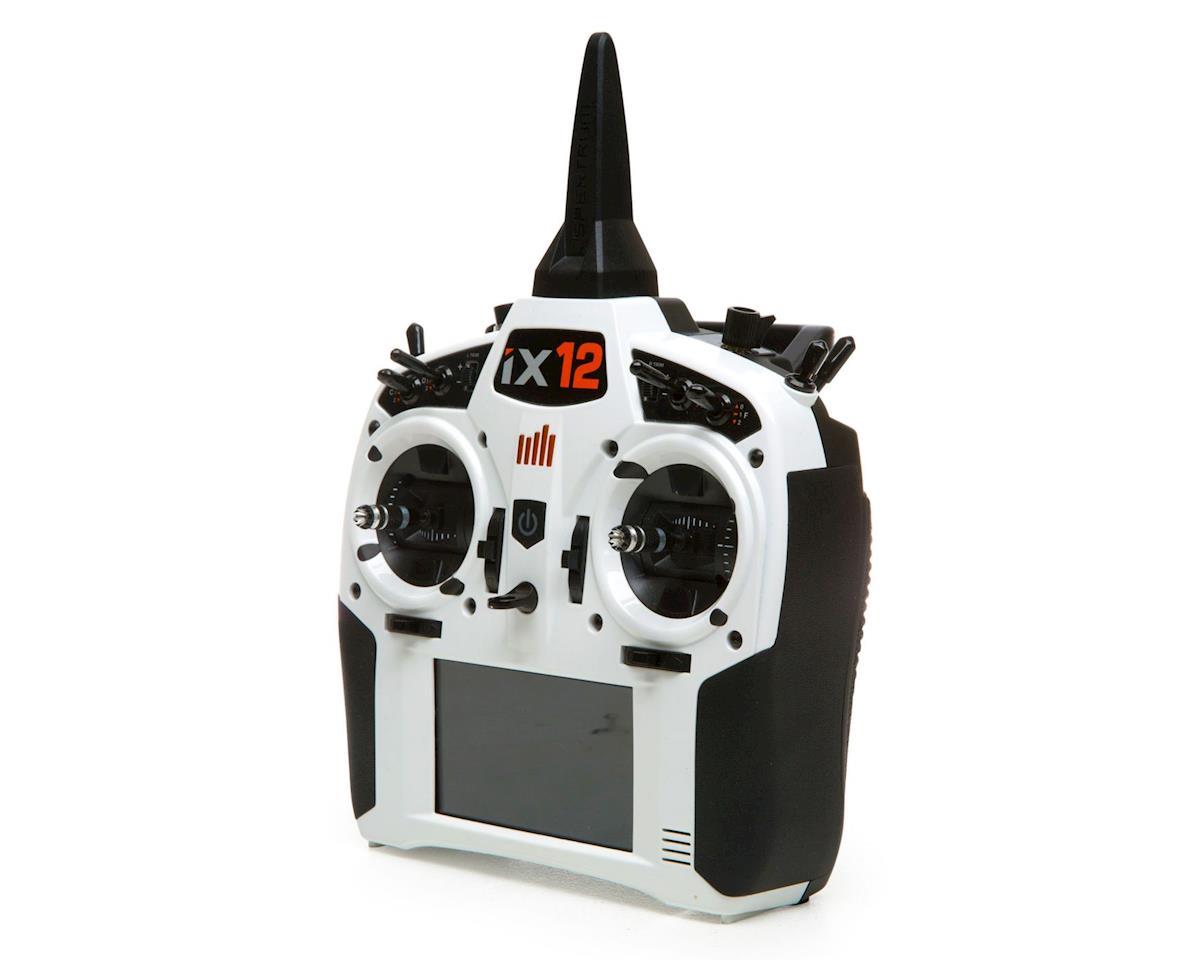 Spektrum RC iX12 2 4GHz DSMX 12-Channel Radio System (Transmitter Only)  (White)