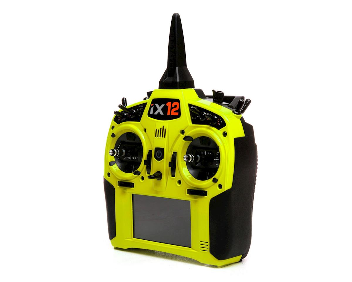 Spektrum RC iX12 2.4GHz DSMX 12-Channel Radio System (Transmitter Only) (Yellow)