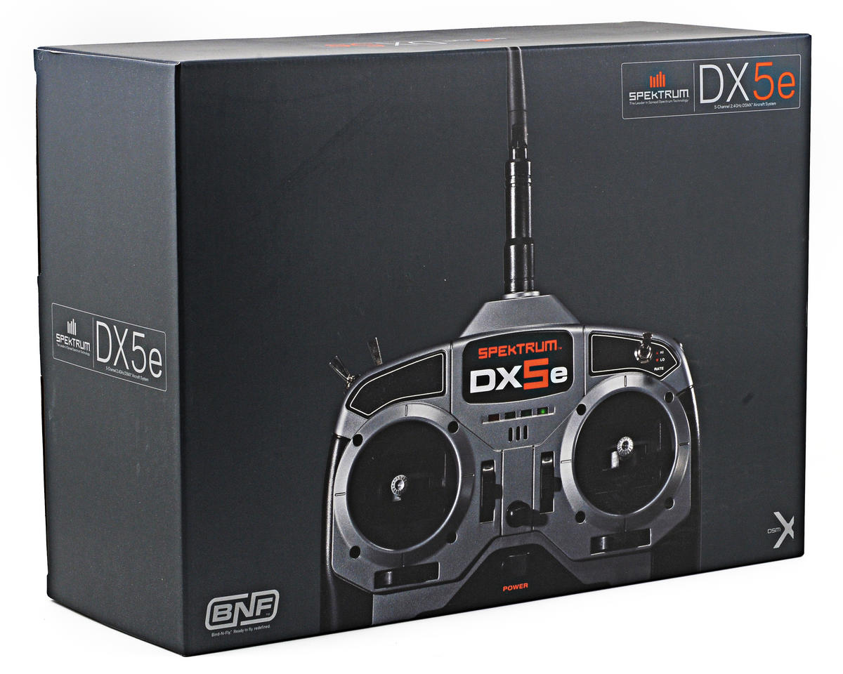 Spektrum RC DX5e 5 Channel Full Range DSMX Transmitter (Transmitter Only)
