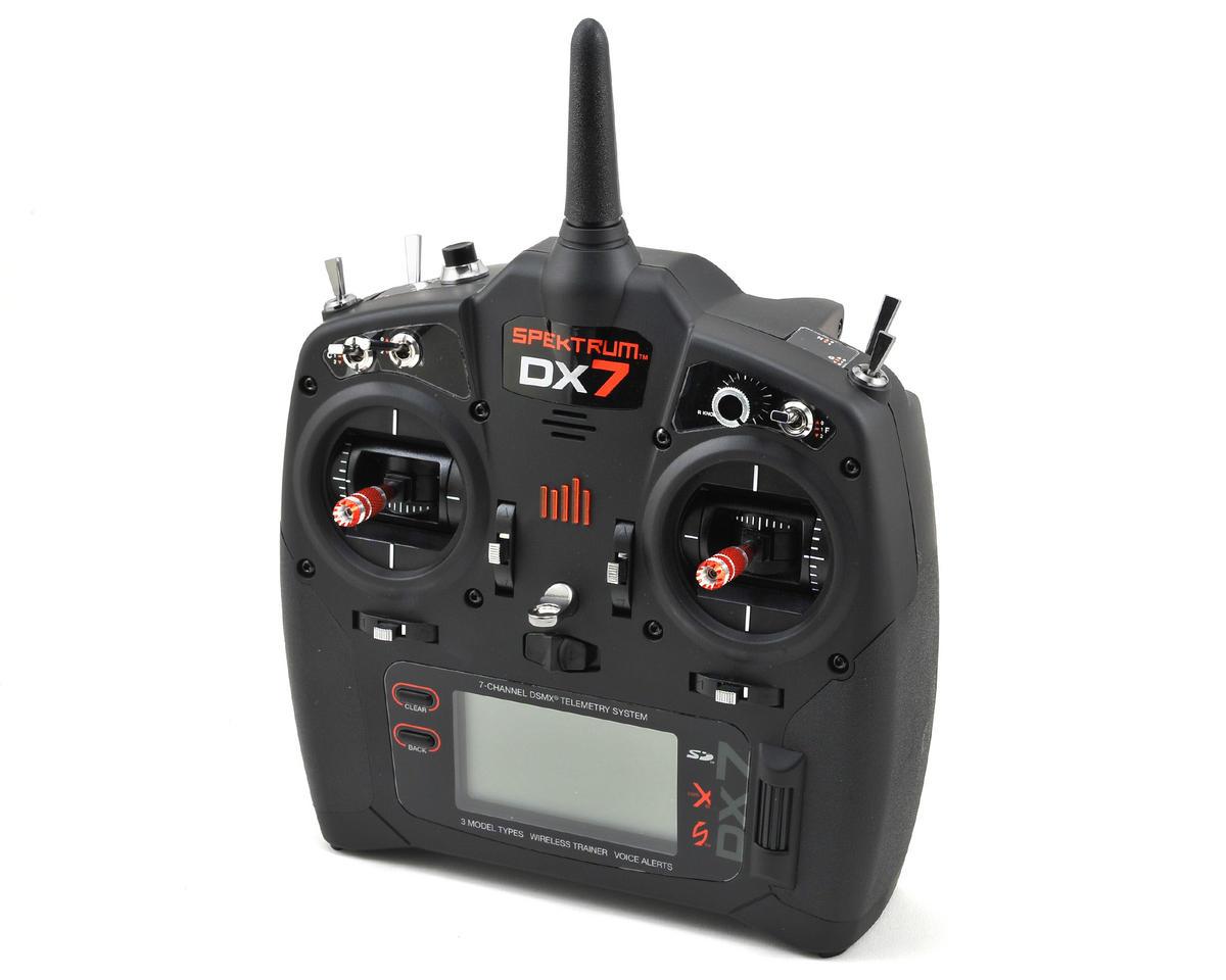 Spektrum RC DX7 7-Channel DSM2/DSMX Transmitter (Transmitter Only) (Mode 2) [SPMR7000 ...