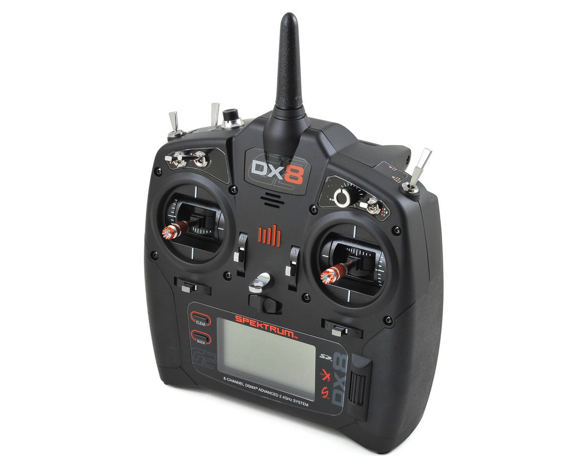Spektrum RC DX8 G2 2.4GHz DSMX 8 Channel Radio System (Transmitter Only)