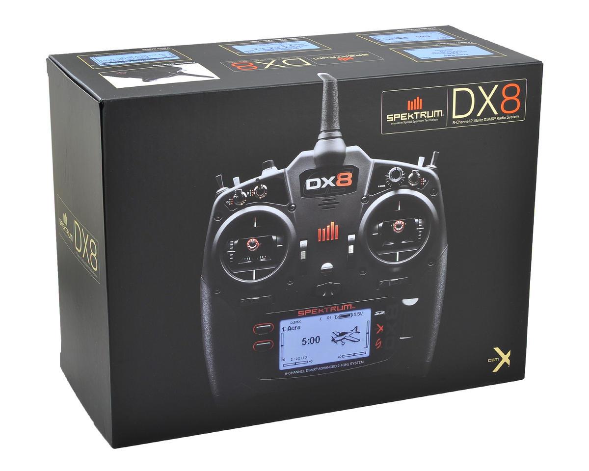 Spektrum RC DX8 Gen 2 2.4GHz DSMX 8 Channel Radio System (Transmitter Only)