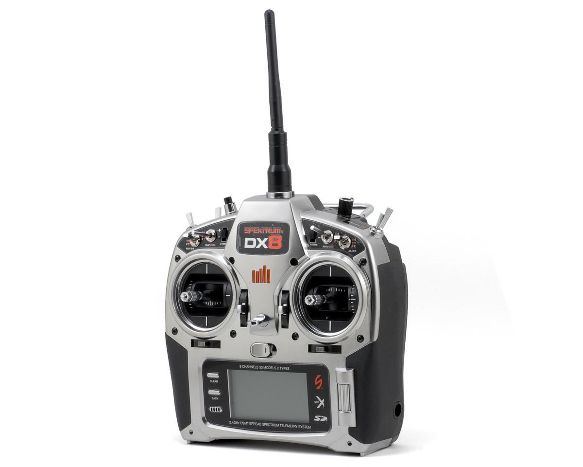 Spektrum RC DX8 DSMX Transmitter (Transmitter Only)