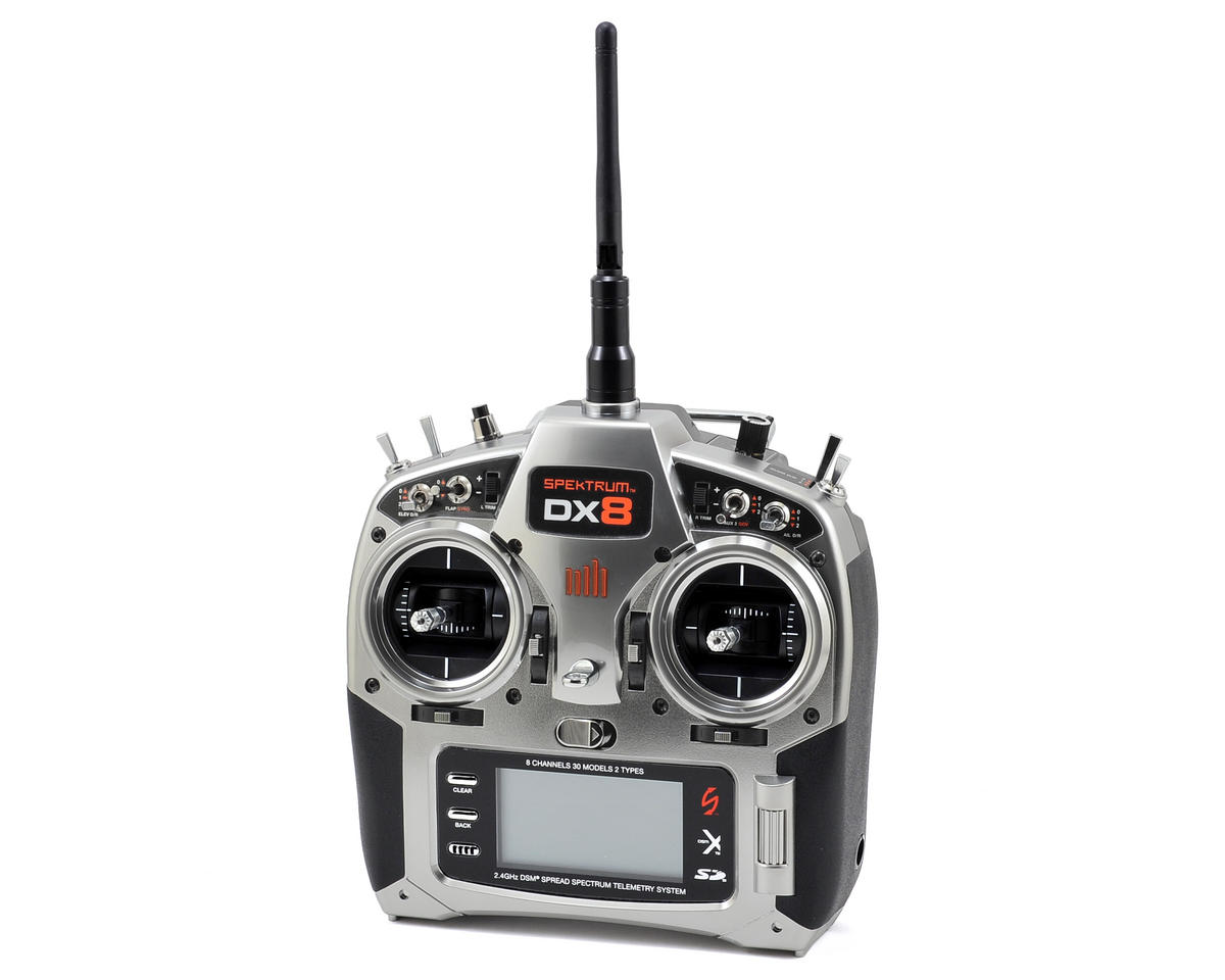 Spektrum RC DX8 8-Channel Full Range DSMX Transmitter (Transmitter Only)