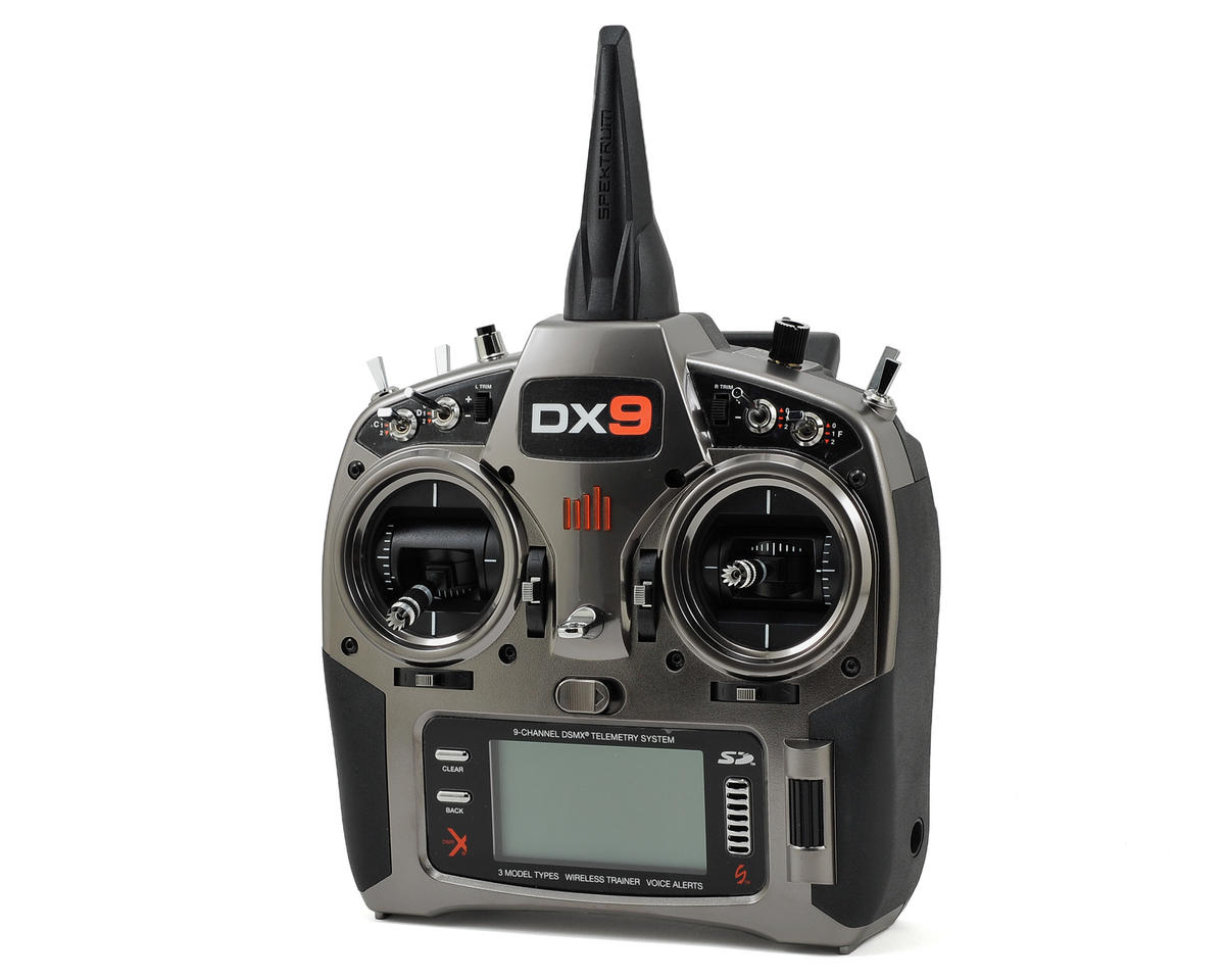 DX9 9-Channel Full Range DSMX Transmitter (Transmitter Only) by Spektrum RC