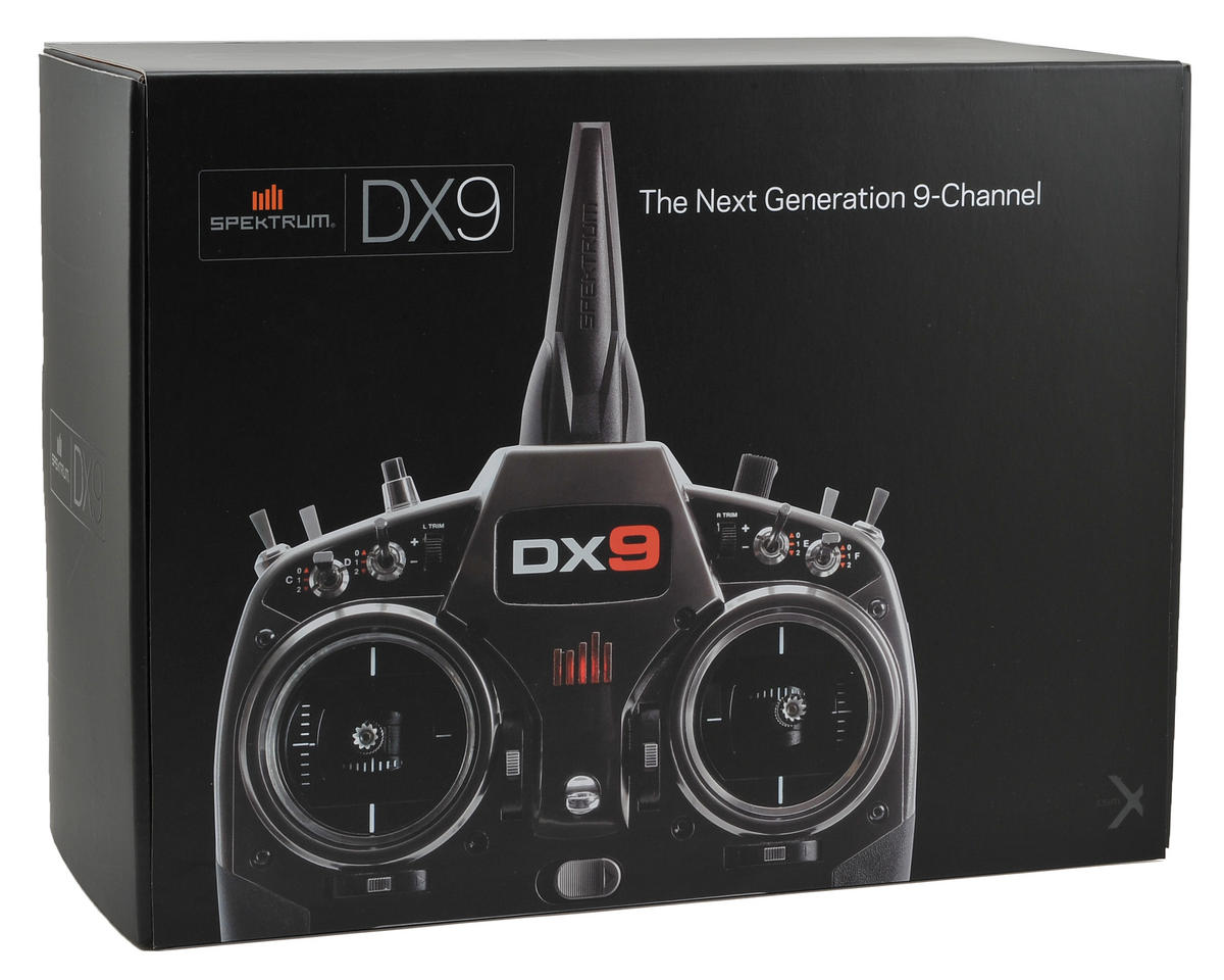 Spektrum RC DX9 9-Channel Full Range DSMX Transmitter (Transmitter Only)