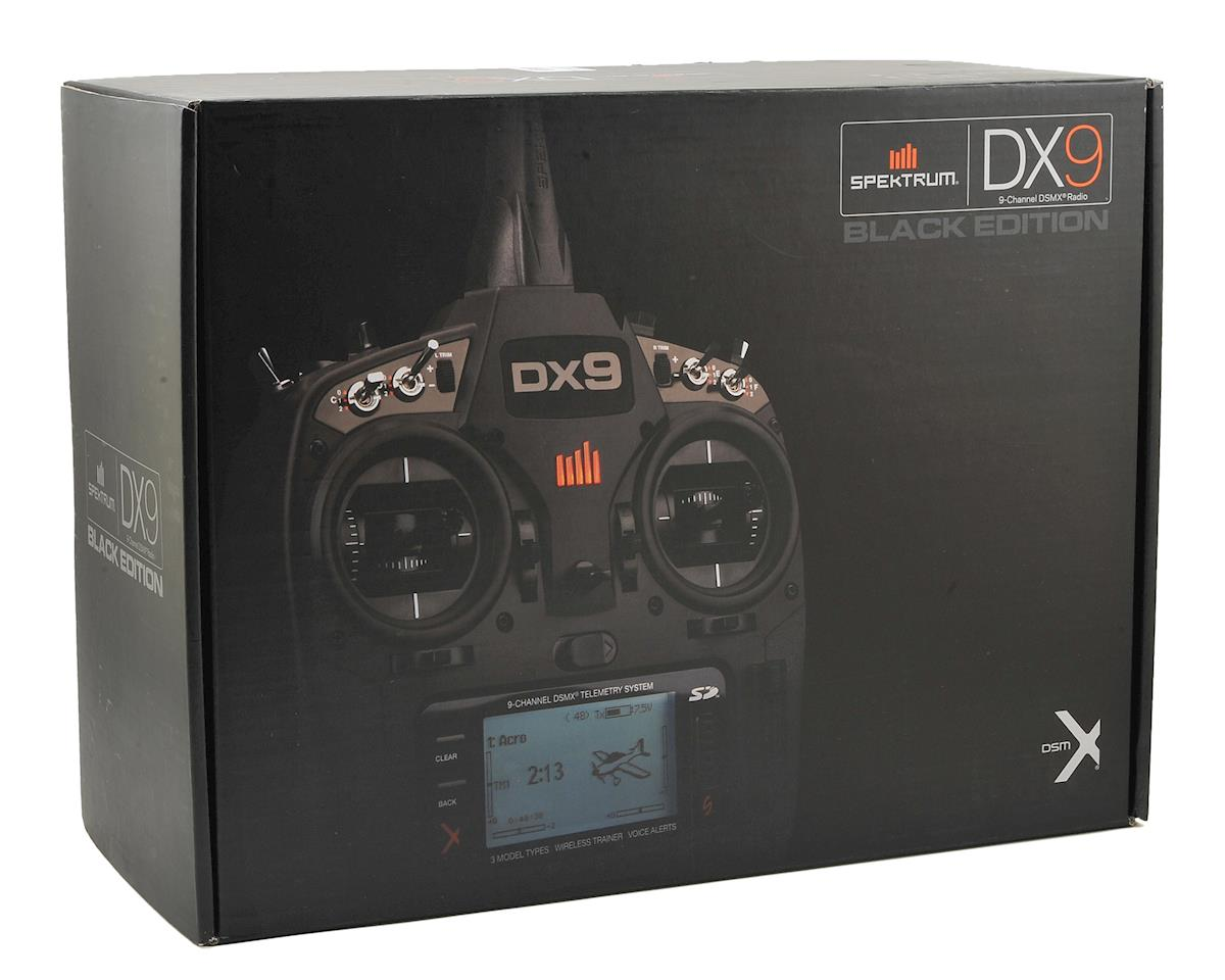 Spektrum RC DX9 Black 9-Channel Full Range DSMX Transmitter (Transmitter Only)