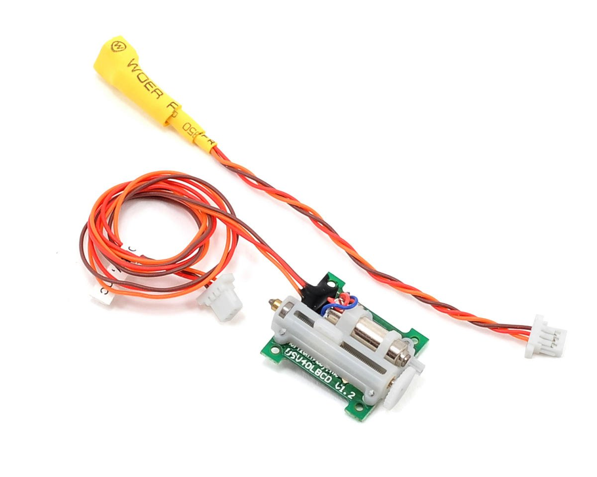 Spektrum RC 2.3 Gram Linear Long Throw Offset Servo (E-flite UMX B-17G)
