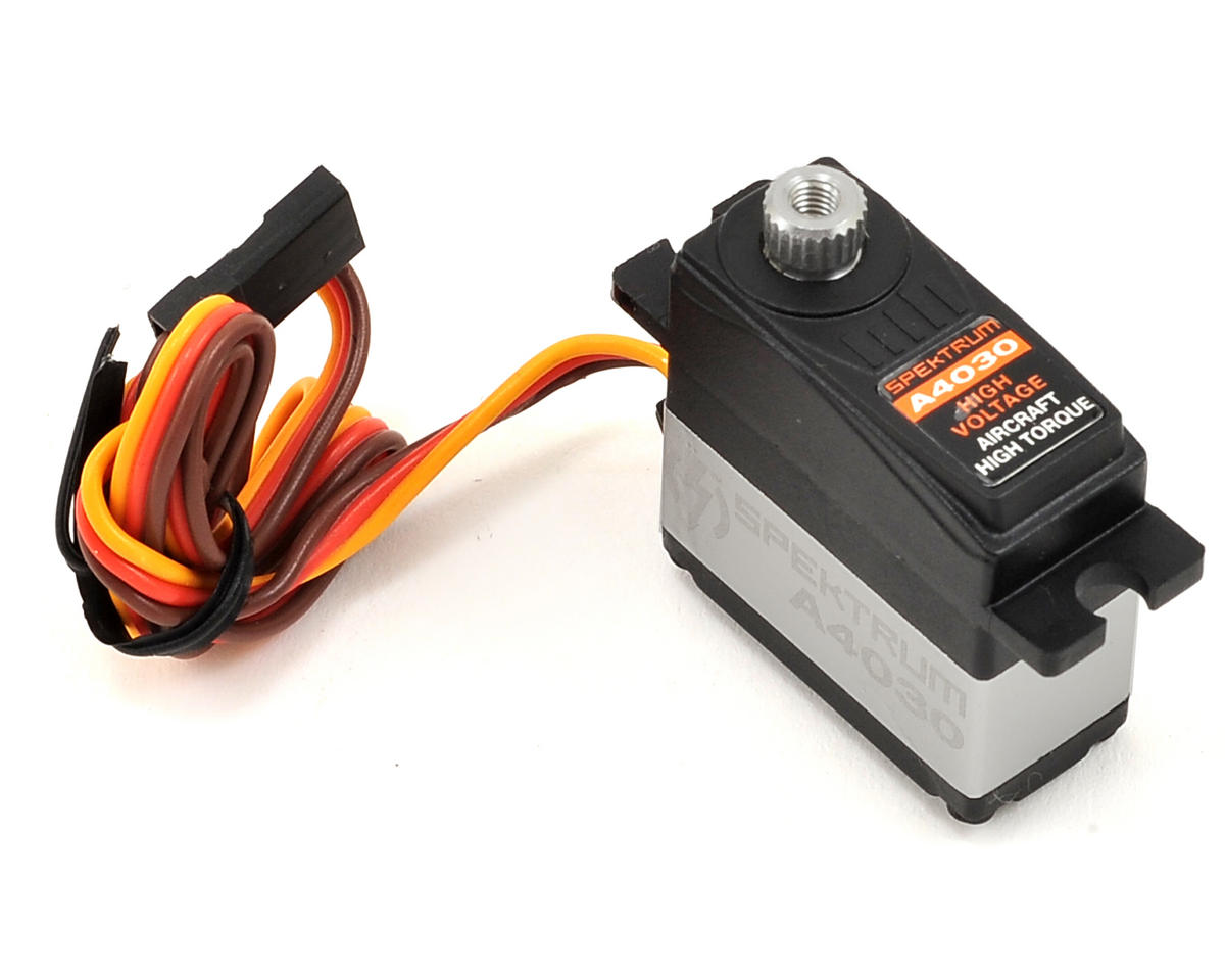 Spektrum RC A4030 Micro HV Digital High Torque MG Servo (High Voltage)