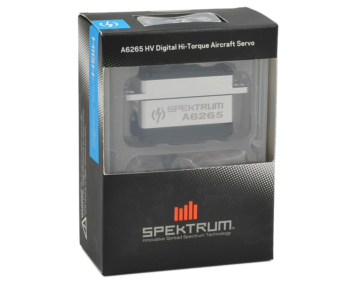 Spektrum RC A6265 Digital High Torque Metal Gear Airplane Servo (High Voltage)