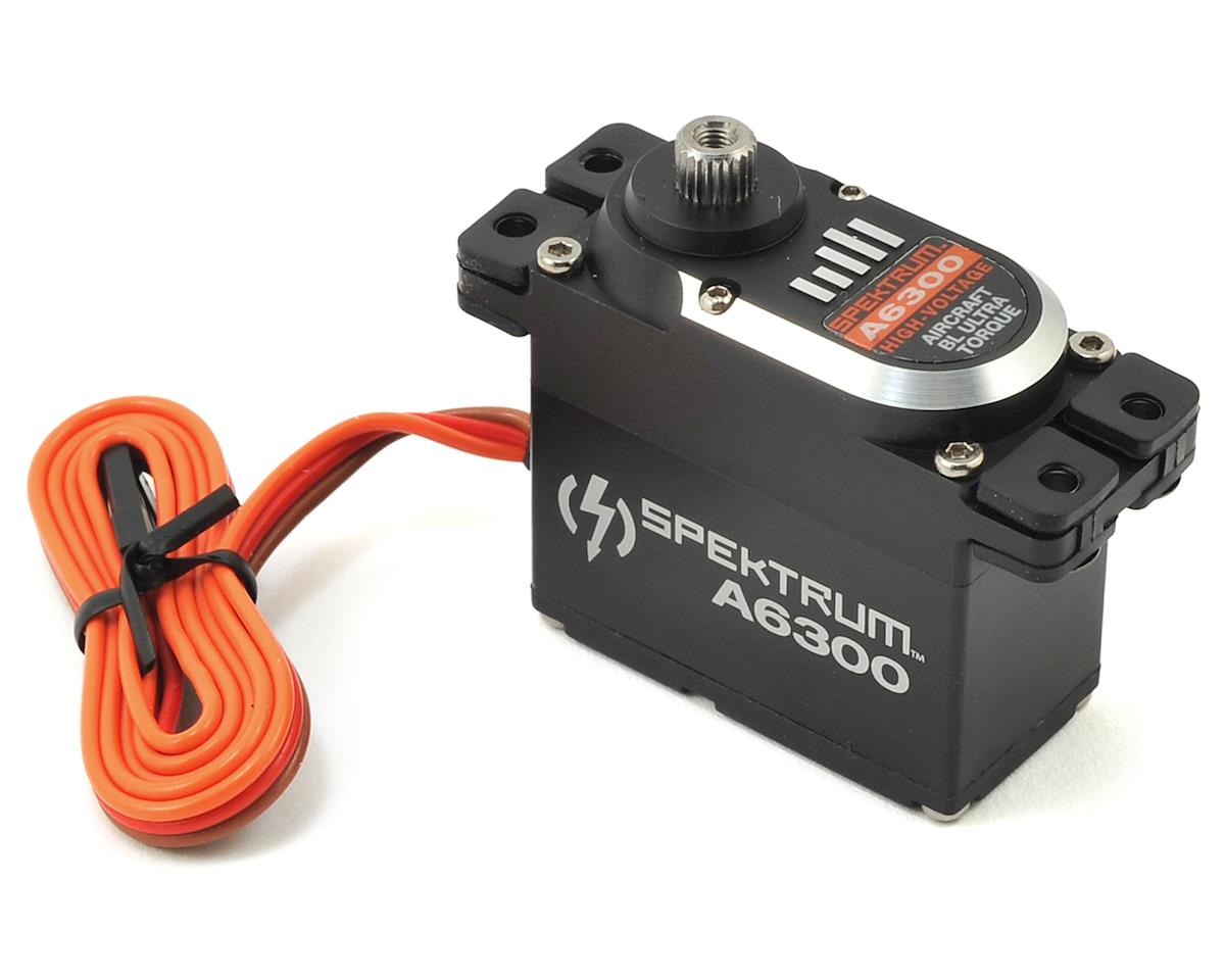 Spektrum RC A6300 Digital Ultra Torque Metal Gear Airplane Servo (High Voltage)