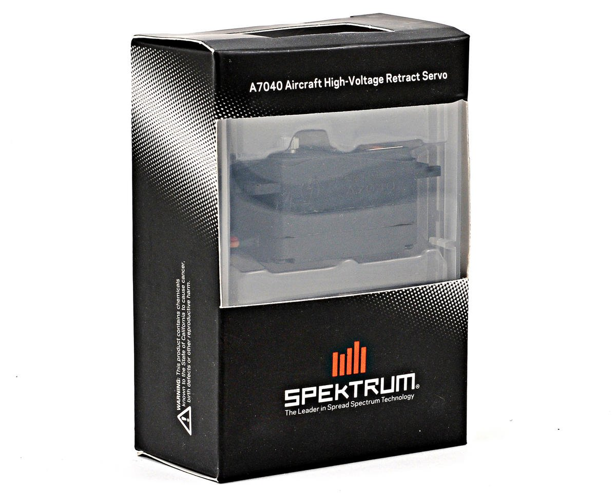Spektrum RC A7040 High Voltage Analog Retract Aircraft Servo