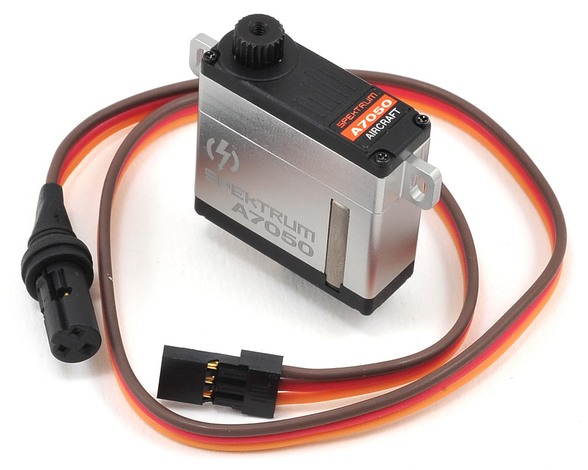 Spektrum RC A7050 HV Thin Wing High Torque MG Servo (High Voltage)
