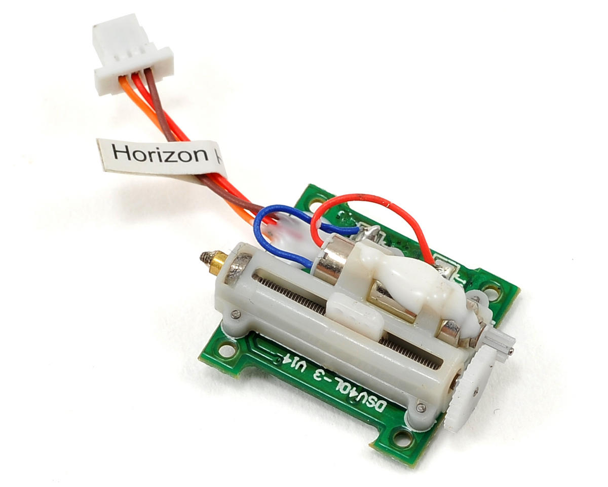 H20225L 2.0 Gram Linear Long Throw Servo w/15mm Lead by Spektrum RC