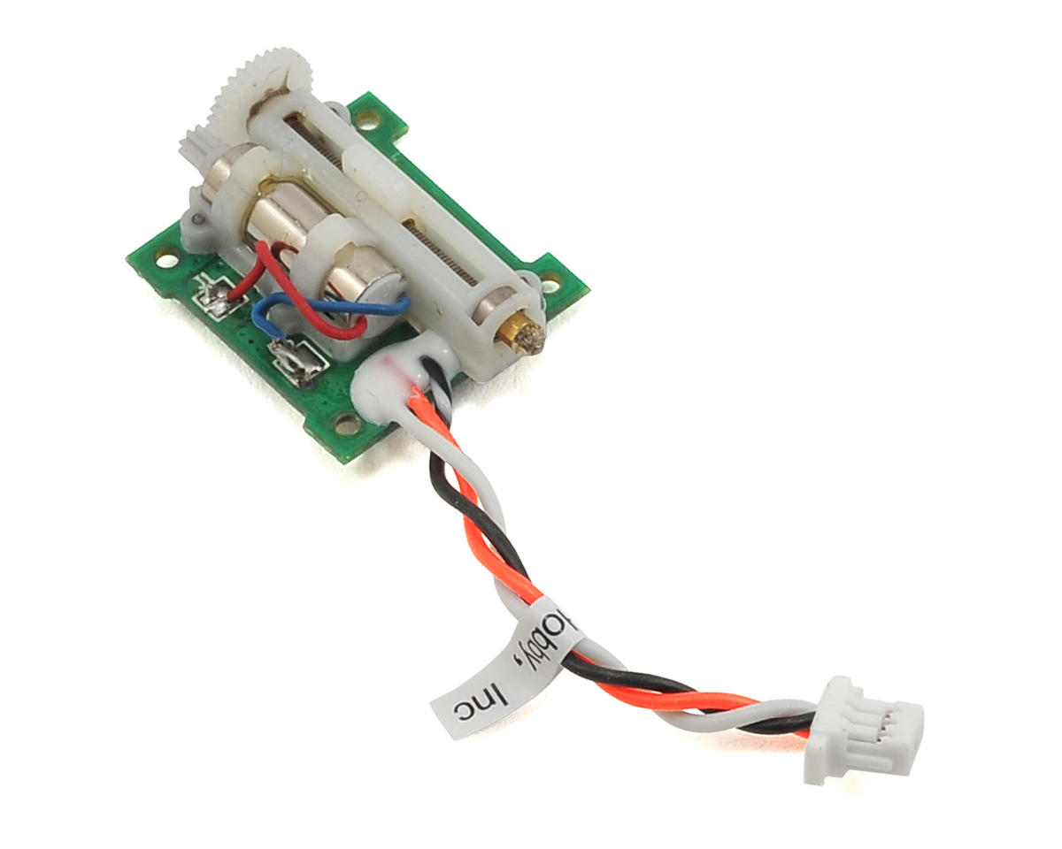 Spektrum RC 2.0g SH2027L Linear Long Throw Servo w/35mm Lead (Blade mSR S)