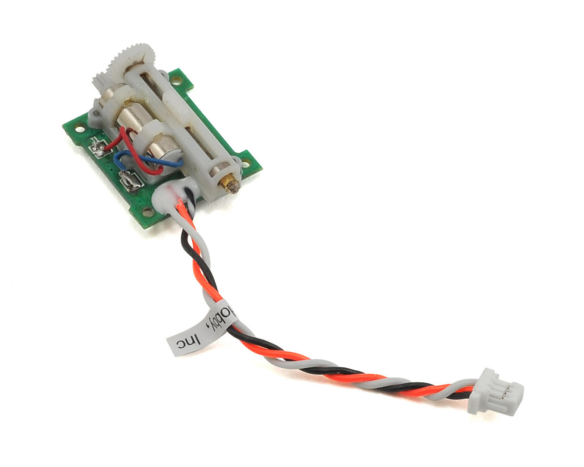 Spektrum RC 2.1g Linear Long Throw Servo w/50mm Lead (Blade mSR S)